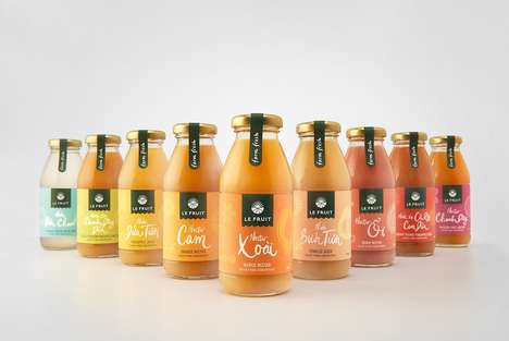 Vibrant Natural Fruit Products - Le Fruit Enjoys a Rebrand Focusing on Local Preservative-Free Angle