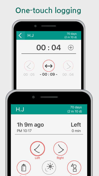 Simplified Nursing Apps - This App for Nursing Embraces a Simple One-Touch Interface