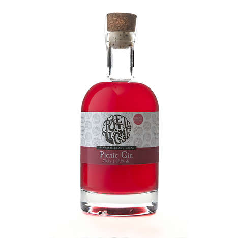 Strawberry Gin Spirits
