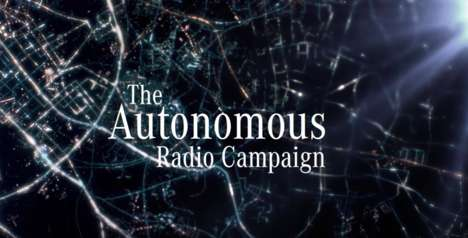 Autonomous Radio Stations - Mercedes-Benz Created a Special Radio Campaign to Promote Its E Class