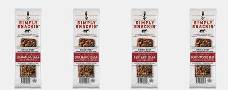 Ethical Meat Snack Branding