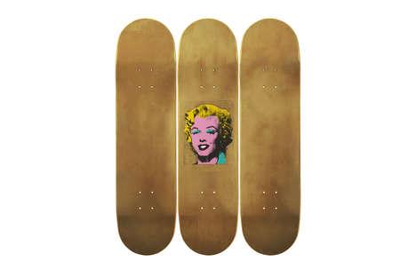 Artist-Inspired Skateboards