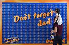 Edible Snack Cake Installations - McVitie's Launched a Jaffa Cakes Tower for Father's Day 2016