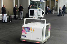 Luggage-Collecting Robots - 'Leo' is an Autonomous Bot That Cares for the Geneva Airport's Luggage