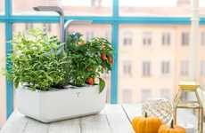 Autonomous Indoor Gardens - 'Véritable' Grows Herbs and Vegetables with No Effort Required