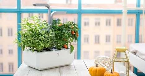 Autonomous Indoor Gardens