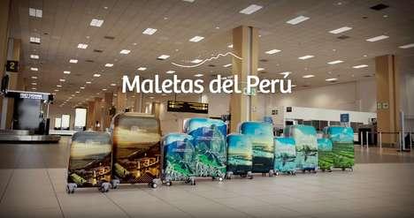 Destination-Promoting Suitcases