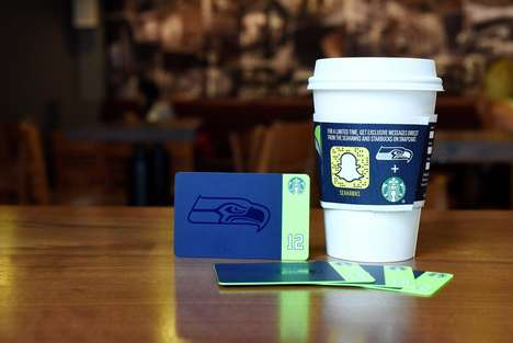 Social Media Coffee Sleeves