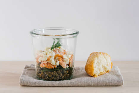Gourmet Jar Meals - Anocolie Offers Sustainably Seasonal Foods Packaged in Reusable Glass Jars