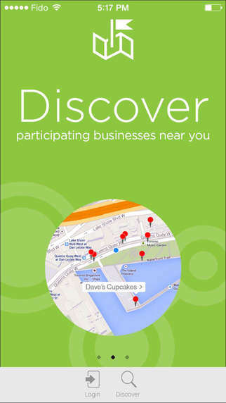 Rewarding Business Discovery Apps
