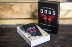 Roulette-Inspired Card Games - The 'Game of Odds' Combines Truth or Dare with Russian Roulette
