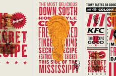 Rebranded Fast Food Campaigns - The KFC Brand Received a More Modern and Minimalist Design Makeover
