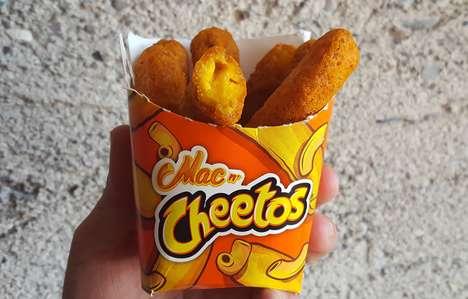 Macaroni-Filled Cheese Puffs