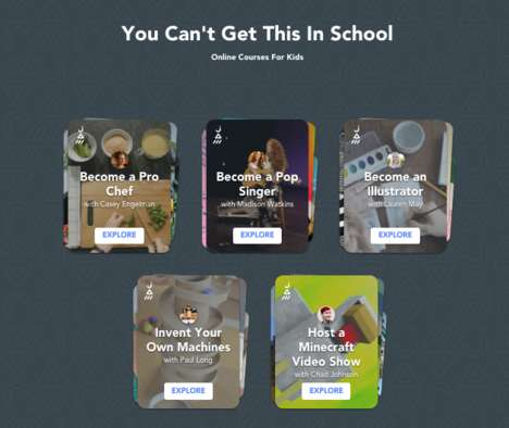 Child-Friendly Online Courses
