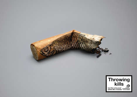 Littered Cigarette Campaigns