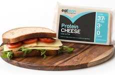 Protein-Packed Cheeses - EatLean's 'Protein Cheese' is High in Nutrients and Low in Fat
