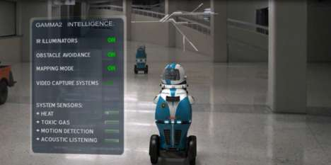 Autonomous Security Robots