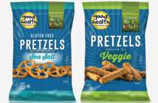 Vegetable-Infused Pretzel Snacks