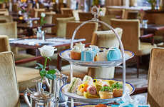 Jewelry-Themed High Tea Experiences - The Peninsula Hotel Offers a Tiffany & Co. Tea Service
