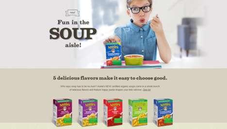 Kid-Friendly Organic Soups