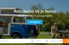 Dutch Car-Sharing Platforms - SnappCar Allows Consumers to Borrow Their Neighbor's Vehicle