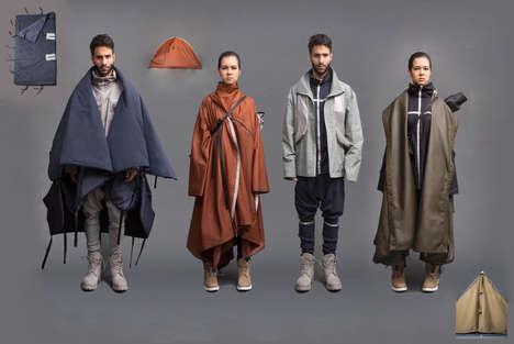 Multifunctional Outerwear Collections - The 'Crossing the Boundary' Collection is Meant for Refugees