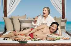 Comedian-Cast Hotel Commercials - These Travel Accommodation Ads Star Jane Lynch and Bobby Lee