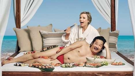 Comedian-Cast Hotel Commercials