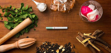 Cocktail Pairing E-Cigarettes - London Fox E-Cigarettes are Meant to Be Paired with Alcoholic Drinks