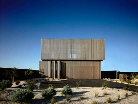 Slatted Contemporary Homes