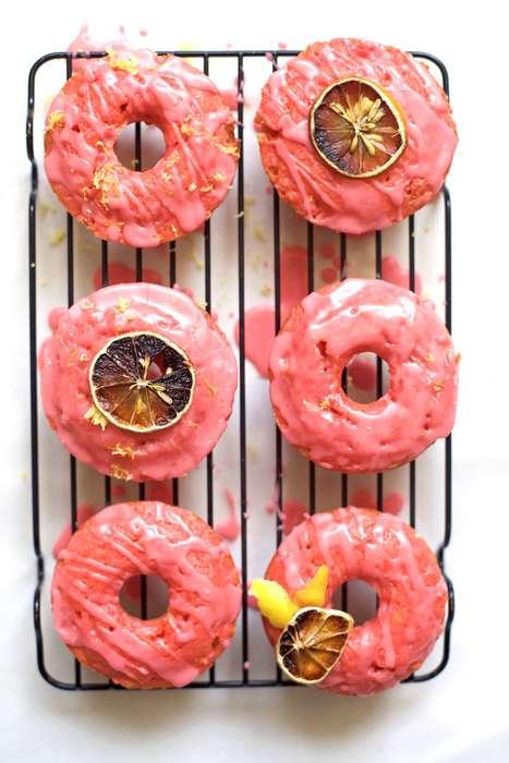 Pink Lemonade Donuts