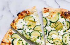 Citrus Zucchini Pizzas - This Zucchini Pizza Recipe is Covered in Bright and Unusual Ingredients