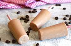 Boozy Chocolate Coffee Popsicles