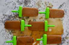 Lavender Latte Popsicles - This Frozen Treat Combines a Creamy Coffee With Florals in Ice Pop Form