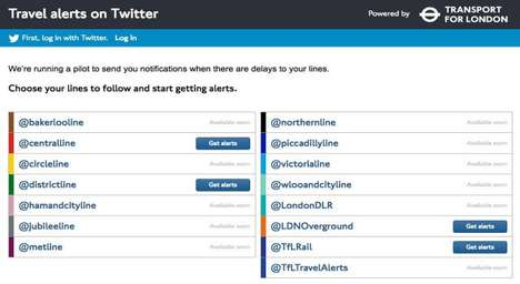Tube Delay Notification Projects
