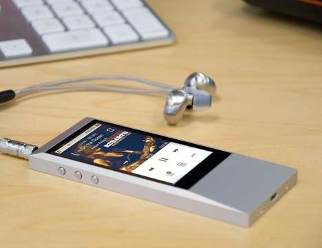 Indestructible Music Players - The Astell & Kern AK JR Portable Audio Device Has an Aluminum Build