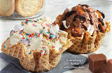 Batter Ice Cream Flavors - The New Cold Stone Creamery Flavors are Made with Cake and Cookie Batter
