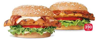 Minimally Processed Chicken Burgers