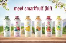 Bottled Smoothie Mixes - Smartfruit's Healthy Fruit Smoothies are Bottled and Only Need Water or Ice