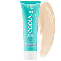 Mineralized Sunscreen Makeup - The Coola Mineral Face Matte Tint Offers a Universal Color Shade