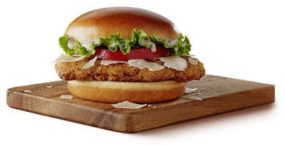 Salad-Inspired Chicken Burgers