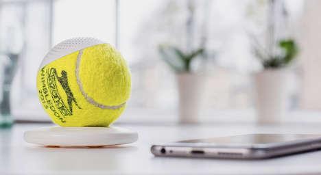 Tennis Ball Speakers