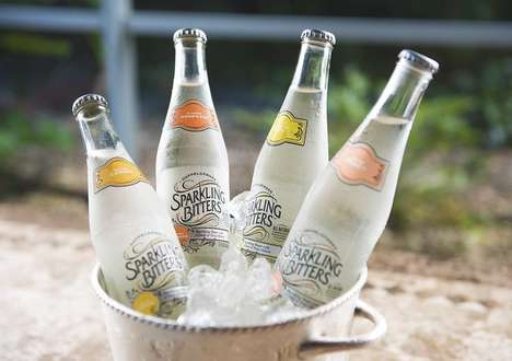 Tonic-Infused Sparkling Water - 'Sparkling Bitters' Makes Sparkling Water Flavored with Bitters