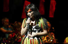 360-Degree VR Performances - Bjork Livestreamed a 360-Degree Concert in Virtual Reality