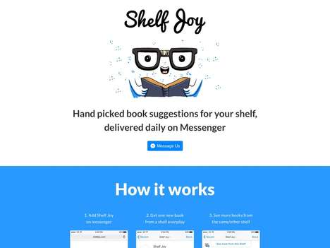 Curated Book Suggestion Services - Curation Service ShelfJoy Suggests Daily Reading Recommendations