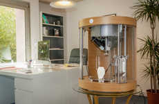 Luxury 3D Printers - Pollen's Advanced 3D Printer Pam Can Print Multi Materials Simultaneously