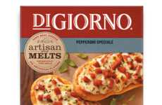Appetizer-Sized Pizzas - DiGiorno's New Artisan Style Melts are Meant for Snacking