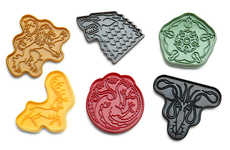 Mythical Cookie Cutters - These GOT Cookie Cutters Pay Homage to the Hit HBO Series
