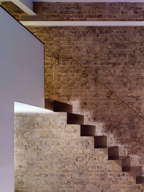 Minimalist Steel Staircases