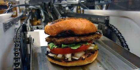 Fast Food Robot Chefs